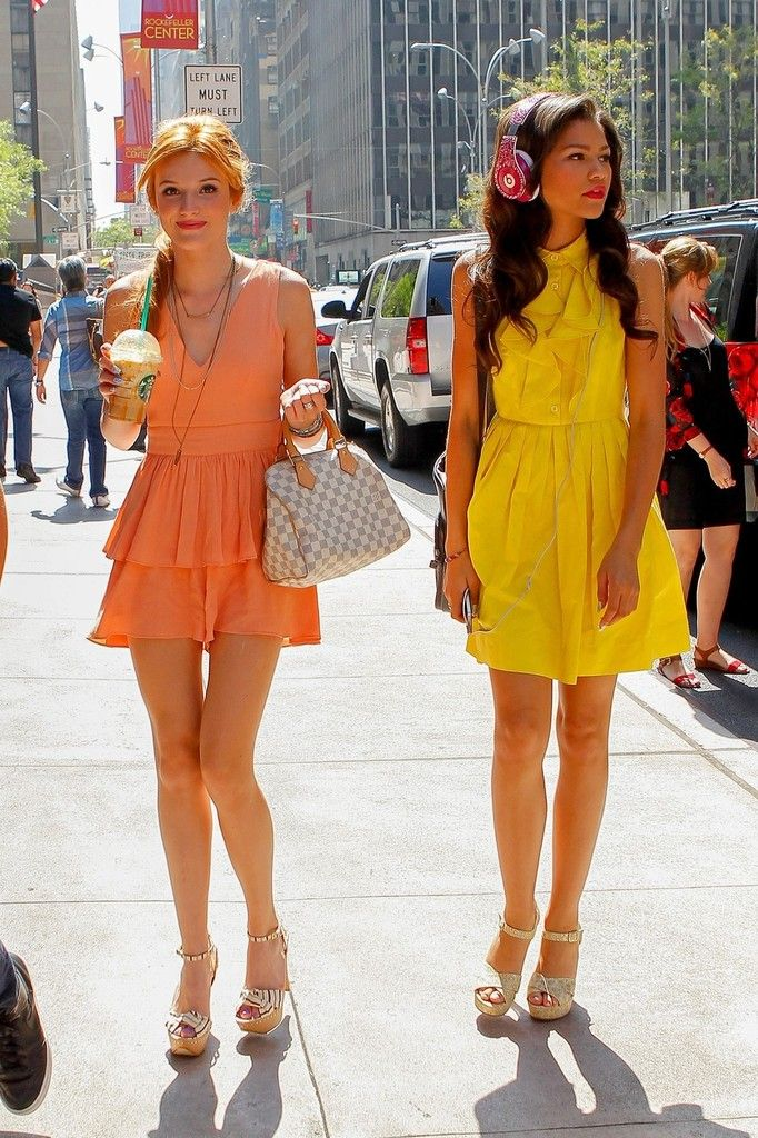 Bella Thorne and Zendaya Promote Disney - Pictures - Zimbio