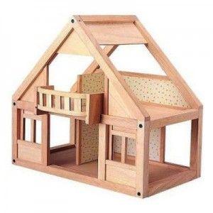 ΞΥΛΙΝΟ ΚΛΑΣΙΚΟ ΚΟΥΚΛΟΣΠΙΤΟ Πρόκειται για ένα κλασικό κουκλόσπιτο, στο οποίο το παιδί έχει εύκολη πρόσβαση από όλες του τις πλευρές. Το σπιτάκι αυτό διαθέτει μπαλκόνι, συρόμενες πόρτες και τέσσερα δωμάτια που μπορούν να επιπλωθούν ως υπνοδωμάτιο, καθιστικό, κουζίνα ή τραπεζαρία (τα έπιπλα δεν συμπεριλαμβάνονται). Τα δωμάτια έχουν ταπετσαρία με όμορφα λουλούδια.