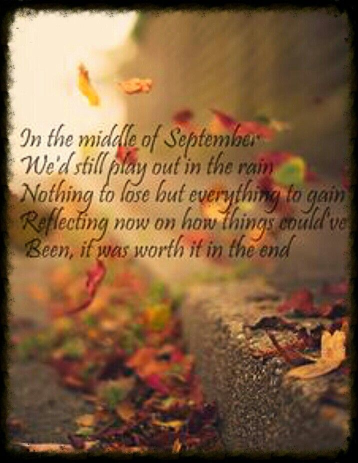"Daughtry ""September"" This is one of my all time favorite songs by him!! Ahh he's so fabulous! ~totalfangirl18"