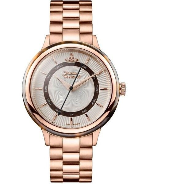 Vivienne Westwood Portobello Watch (£290) ❤ liked on Polyvore featuring jewelry, watches, stainless steel wrist watch, stainless steel jewelry, vivienne westwood watches, vivienne westwood jewellery and logo watches