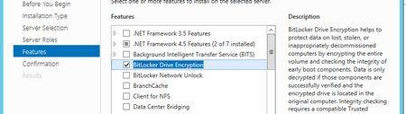 Enabling bitlocker on Hyper-V 2012 R2 Cluster