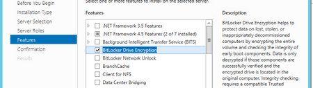 Enabling bitlocker on Hyper-V 2012 R2 Cluster