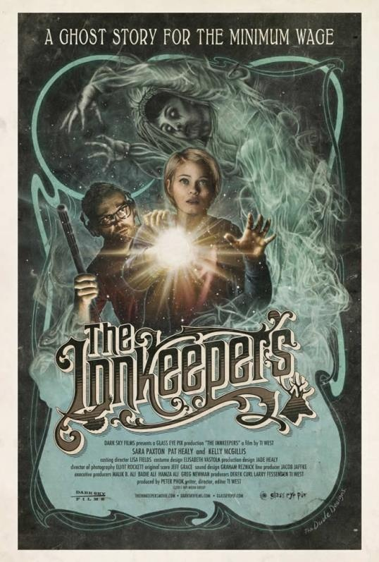 The Innkeepers movie poster by The Dude Designs.