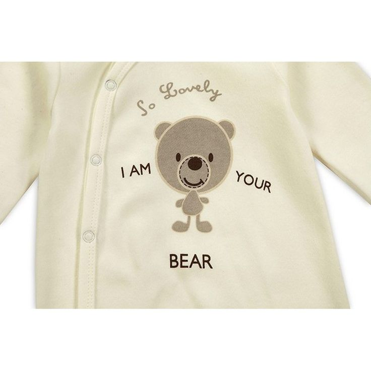 2016 New Style Baby Clothing Cotton Long Sleeve Baby Footies Spring Autumn Infant Jumpsuit Round Collar Baby Sleepers Unisex (2)