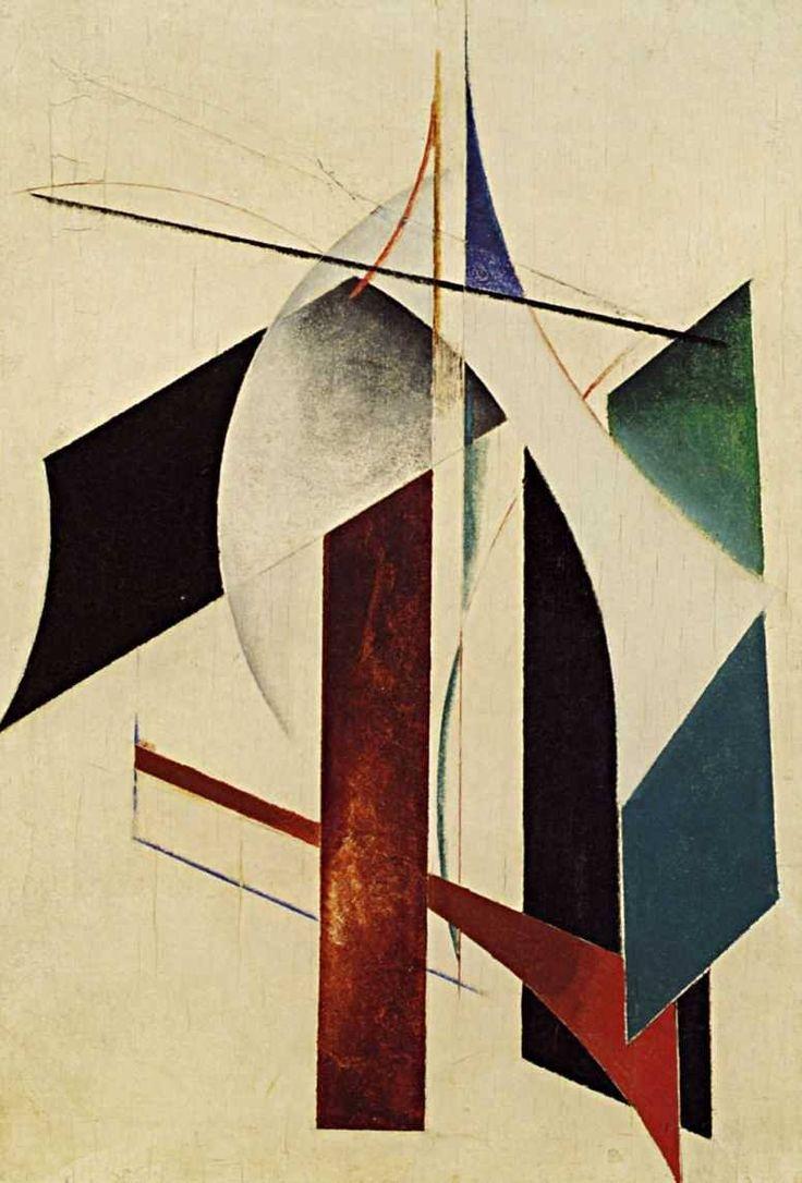 Alexander RODCHENKO - Non-objective composition, 1917