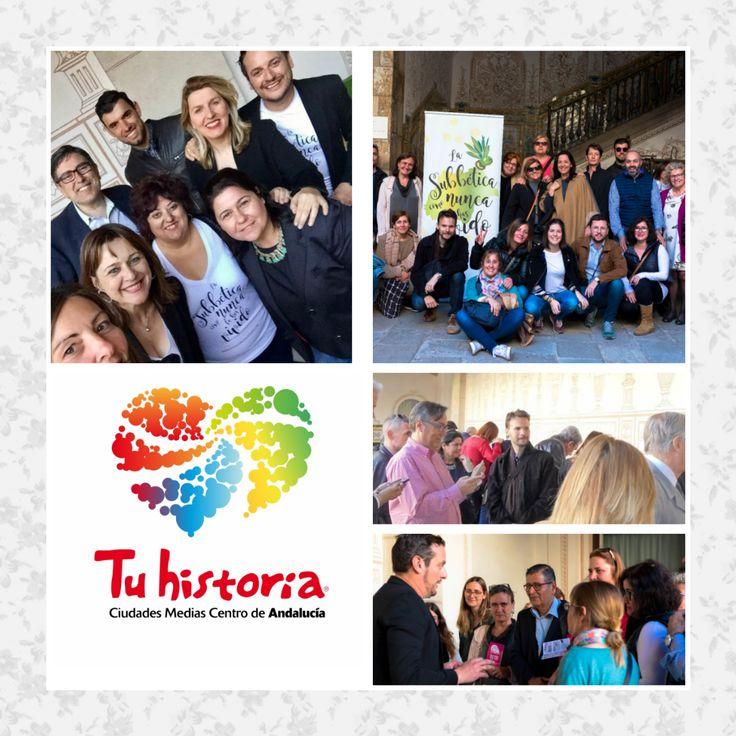 Tu historia estuvo presente en la presentación del #DestinoSubbetica con motivo de la #BTravel. Acudieron Bloggers, agencias de viajes y medios de comunicación #experiencias #AlcalálaReal #Antequera #Écija #Lucena #PuenteGenil Gracias a to@s