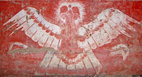 Owl with Bloodied Mouth from Tetitla #teotihuacan #tetitla