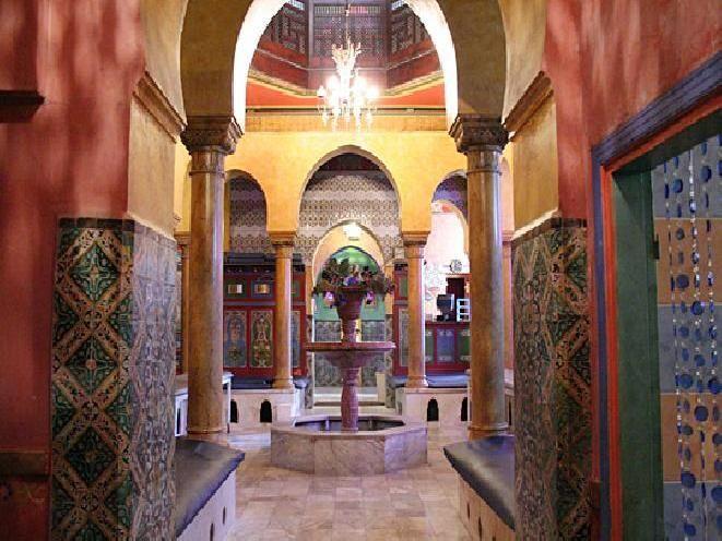 hammam in Paris The Great mosque of paris,