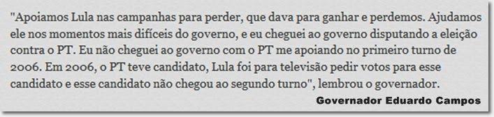 TERRA BRASILIS: Eduardo Campos: o cinismo e a cuspida no prato em ...