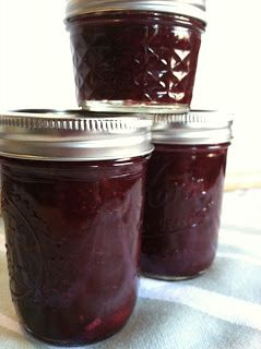 Canning Homemade!: Rhubarb Muscat Wine Jam - Rhubarb Blackberry Lime Jam