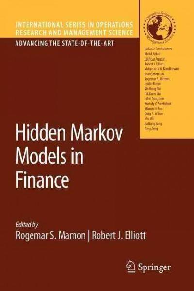 Hidden Markov Models in Finance