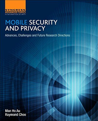 Mobile Security and Privacy Pdf Download e-Book