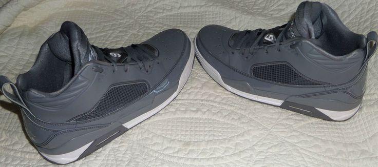 Men's Size 13 JORDAN FLIGHT 9.5 Basketball Shoes Cool Grey 654262 013 #NikeJordan #BasketballShoes
