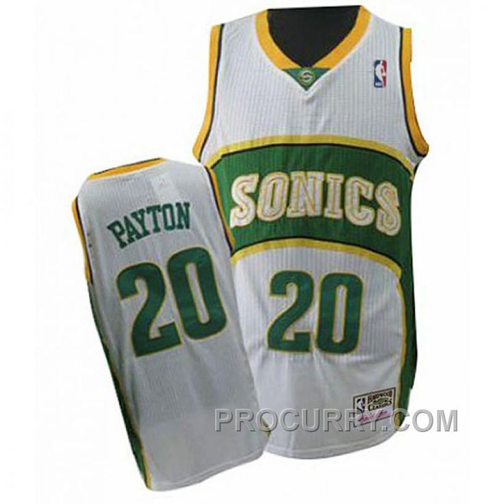 ... the Buy Gary Payton Seattle SuperSonics Swingman Throwback White Jersey  from Reliable Gary Payton Seattle SuperSonics Swingman ... cc0b63894