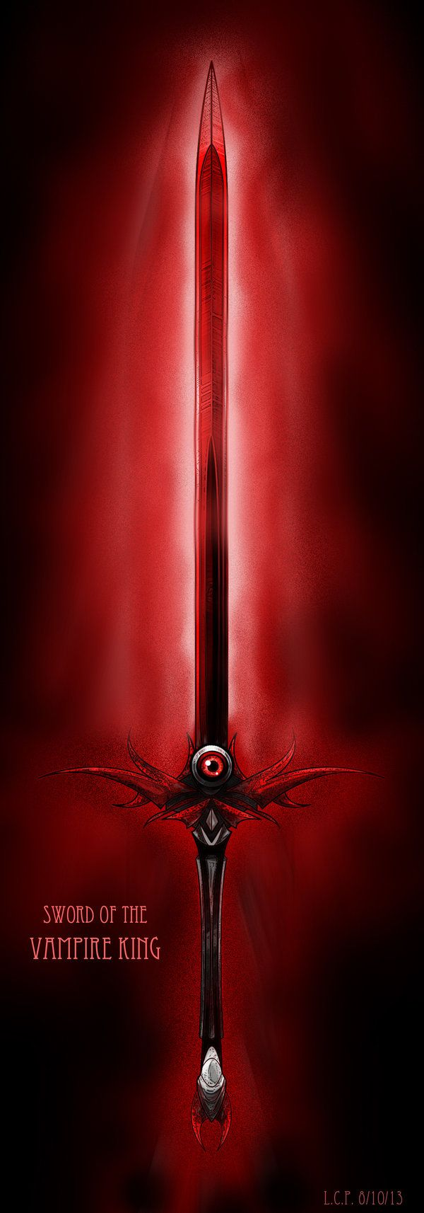 Weapon Design: Sword of the Vampire King by Sathiest ...