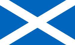 Flag of Scotland ~ Saint Andrew's Cross ~ The Saltire