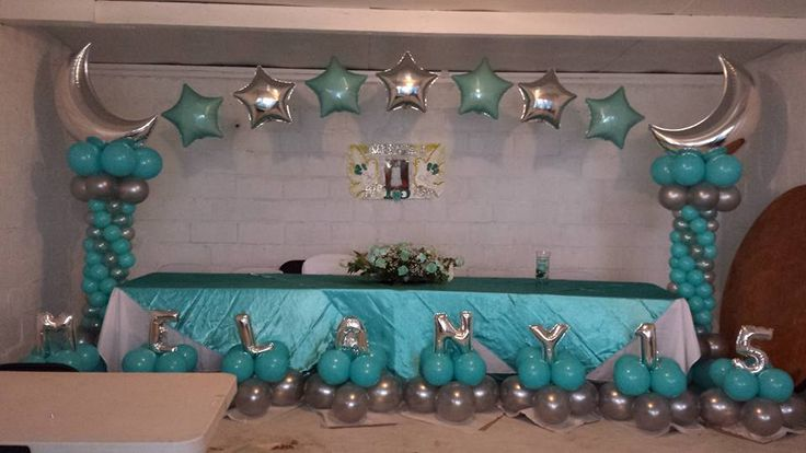 53 best images about decoraci n con globos on pinterest for Globos para quince anos