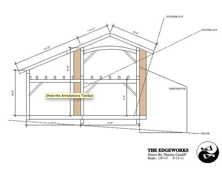 12 best alternative building methods images on pinterest for Timber frame straw bale house plans