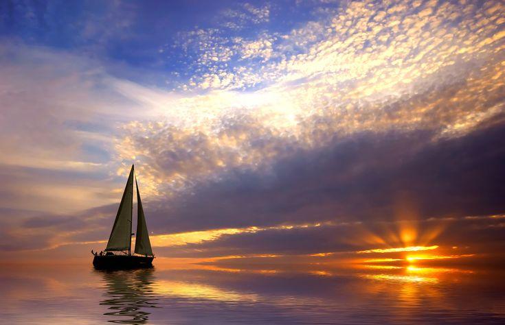 Perfect Sailing Sailcloth Print