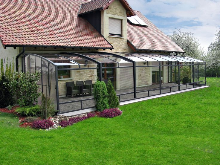 Long And Spacious Retractable Terrace Enclosure CORSO Protects Your Seating  Set From Rain. | Pinterest | Corso, Rain! And Terrace