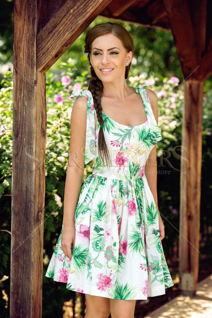 PrettyGirl Artless White Dress
