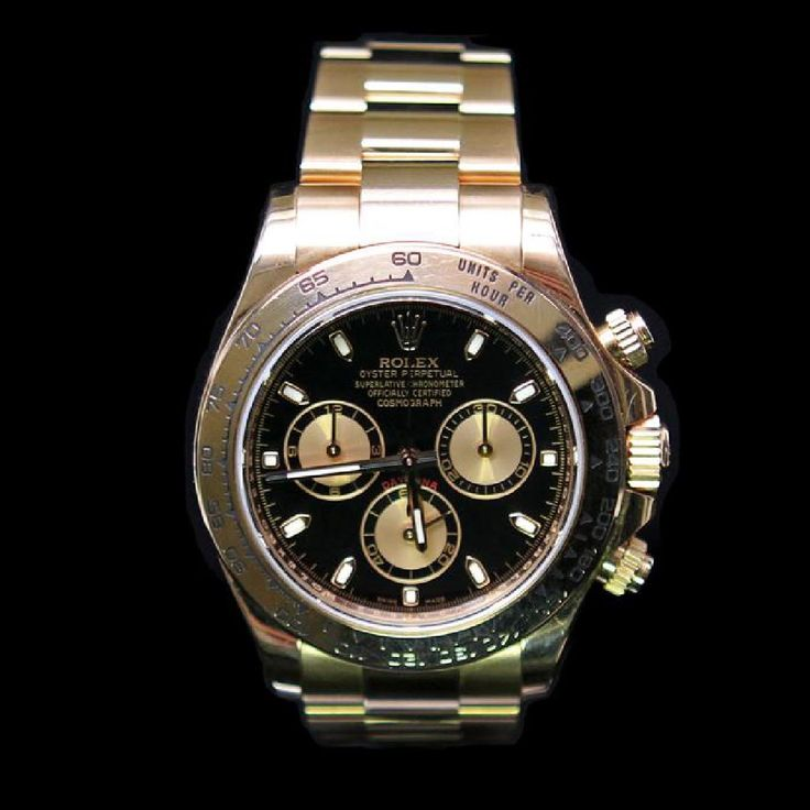 FOR A LIMITED TIME - Ends On 2017-09-26 17:00 (GMT) - Rolex Daytona 40mm 18K Rose Gold Mens Wristwatch ****** Rolex Daytona 40mm 18K Rose Gold Mens Wristwatch ****** One Mens, Rolex Daytona 40mm 18K Rose Gold Wristwatch electronically tested and polished / Case: 18K Solid Rose Gold, 40mm / Dial: Black / Bezel: 18K Rose Gold / Bracelet: 18K Solid Rose Gold. Standard clasp, with logo / Condition: Pre-Owned / Good Condition / Ref: ROX-DT-0068 Keywords: Auction, Recommended, R