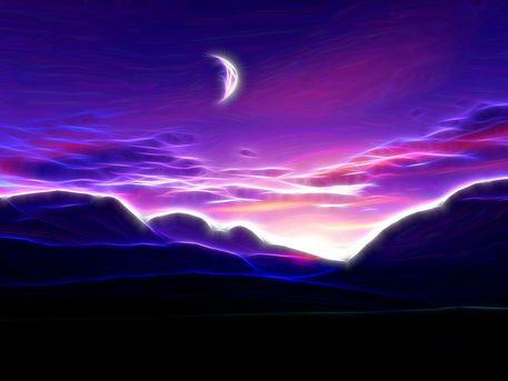 'Glowing Sky' von Alexandra Kleist bei artflakes.com als Poster oder Kunstdruck $14.15