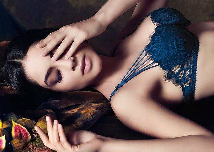 #lingerie #blue #Parah