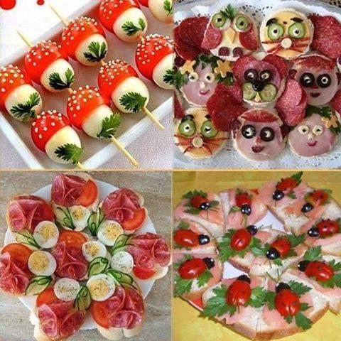 Puntadas deliciosas: Bocadillos para fiestas infantiles