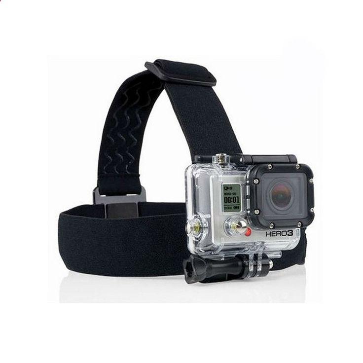 SJCAM Wifi SJ4000 Action Camera Headband Strap Belt For Gopro Accessories For Hero 4/1/2/3/3 Head Belt For MIni Sports Camera