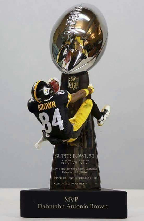 MVP, Antonio Brown!  Lol!