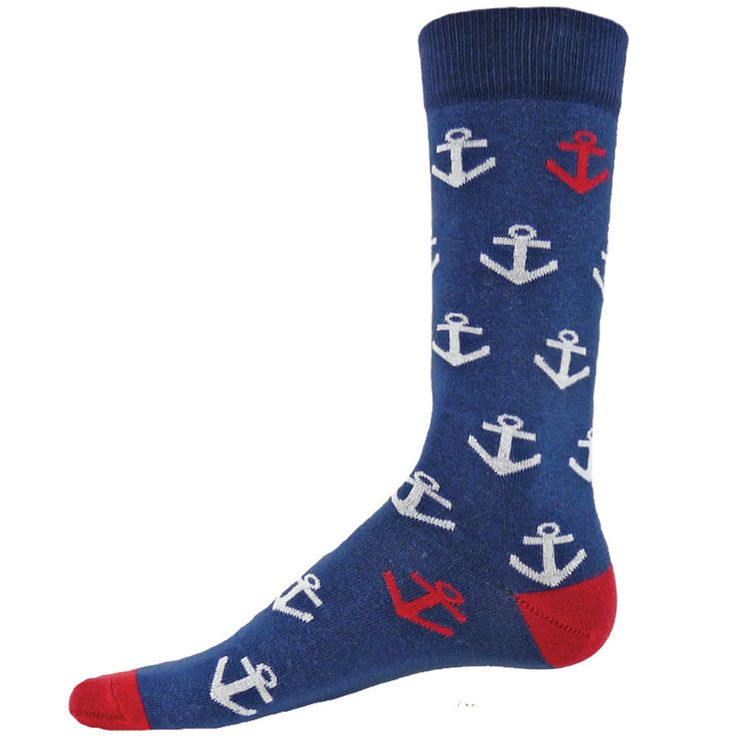 Anchor Down Crew Socks Pre Order Sale Online Sale Online Store PHP46