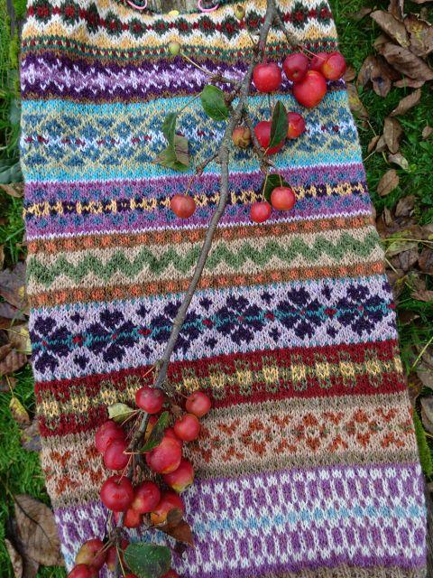 91 best Fair-Isle images on Pinterest | Knit patterns, Knitting ...