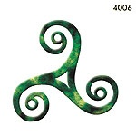 Possibility for my third tattoo. The triskelion symbolizes personal growth, human development and spiritual expansion. I'm either thinking of adding live, laugh, love in Gaelic around the tattoo or love, loyalty and friendship in Gaelic.