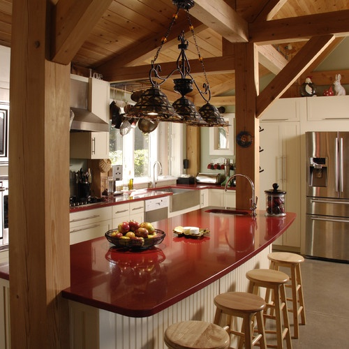 13 Best Images About Post & Beam Kitchens On Pinterest
