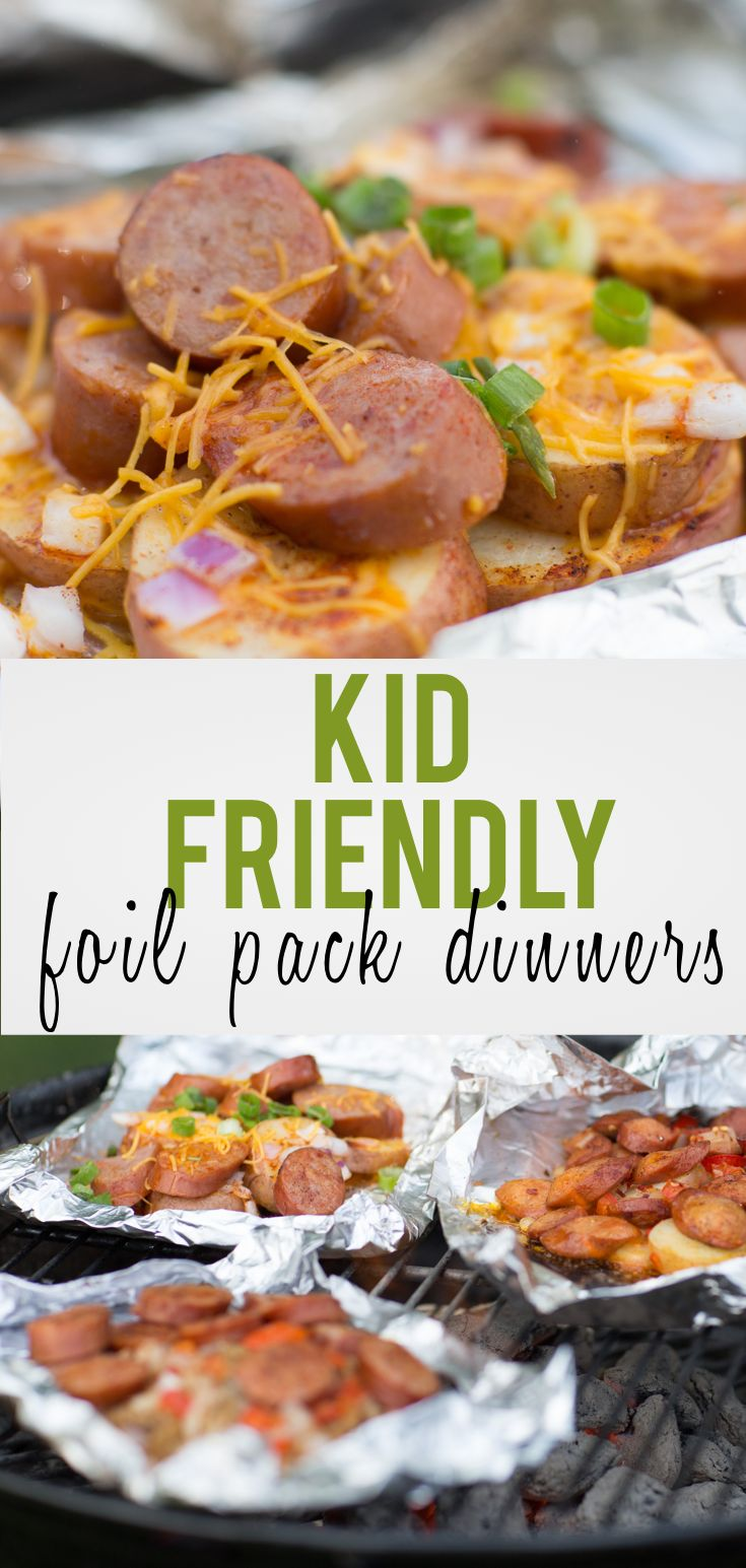 These foil packs are so easy to make! They're an easy grilling idea for families, parties, or even just a group of two!
