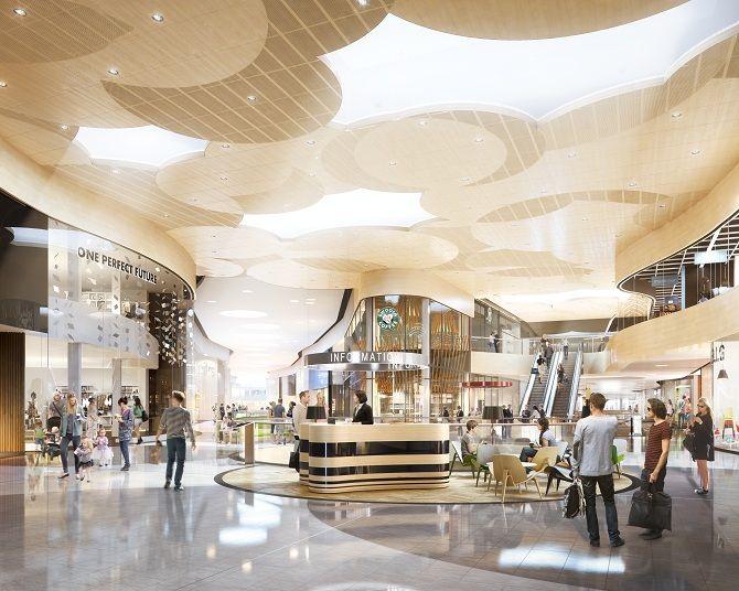 Mall of Scandinavia (Earth) Stockholm. Photo courtesy of Innesco