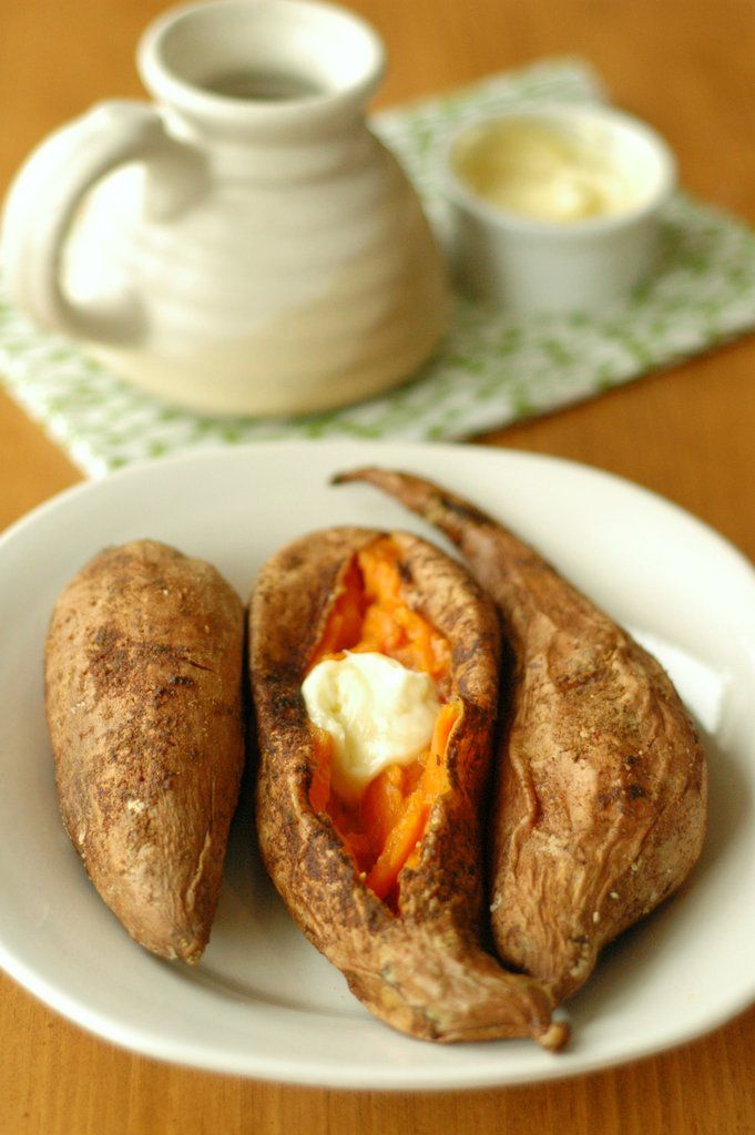 It's easy to neglect side dishes in favor of the main dinner. Which is where these ridiculously easy vegetable sides come in. Pictured: Slow-Cooker Baked Sweet Potatoes