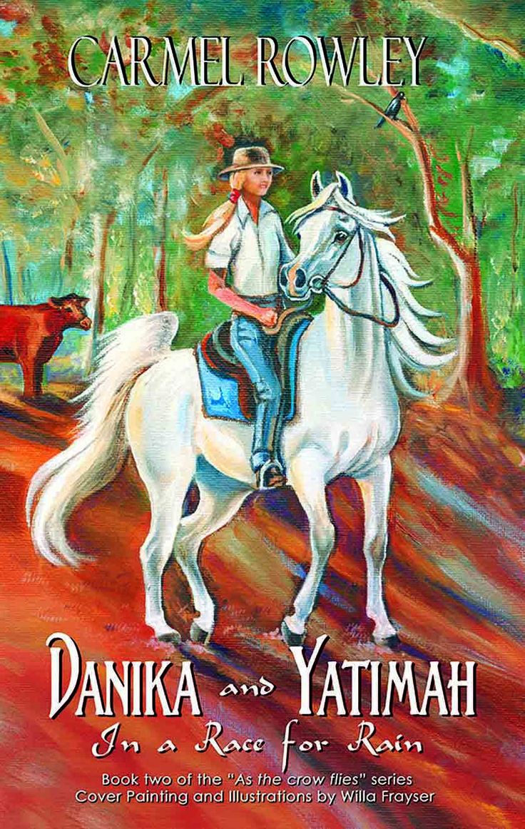New Release - front cover DANIKA AND YATIMAH IN A RACE FOR RAIN