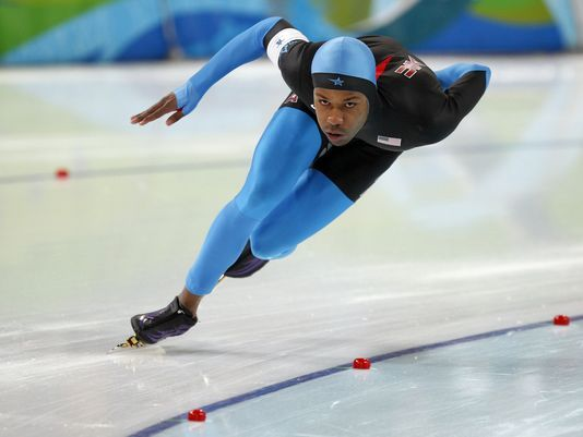 Shani Davis - Sochi Olympics