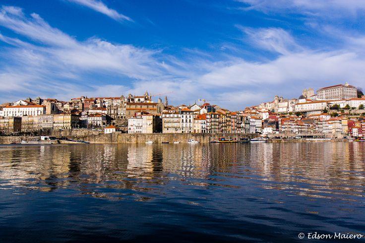 E antes do final do passeio, ainda tivemos tempo para esta vista maravilhosa do Cais da Ribeira, no Porto