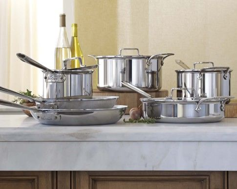 Exceptional All Clad D5 Stainless Steel 10 Piece Cookware Set  Http://www.williams Sonoma.com/ | All Clad D5 | Pinterest | Cookware Set Nice Look