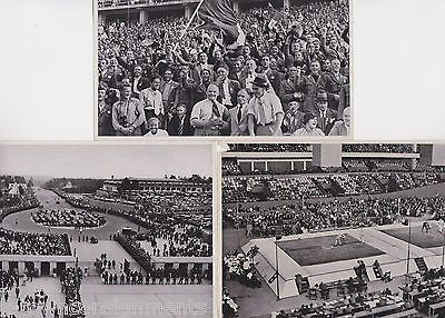 1936 BERLIN OLYMPIC GAMES ORIGINAL VINTAGE PHOTO POSTCARDS LOT