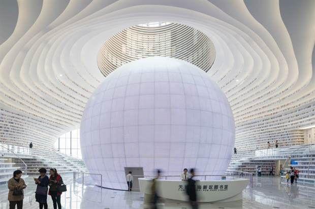 Ver para creer: la biblioteca más increíble del mundo  Foto:OHLALÁ!           /mvrdv.nl