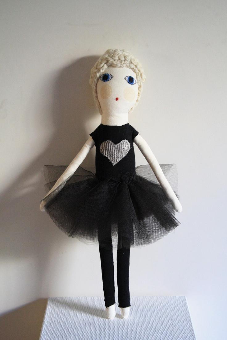 Severina Kids Organic Cotton Doll in Tutu