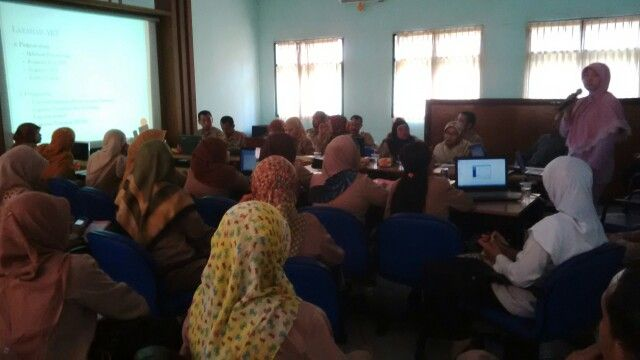Belajar SIHA bersama teman-teman Puskesmas se Kabupaten Pasuruan