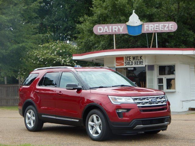 This Ruby Red 2018 Ford Explorer Xlt Is Raring To Go Home With You