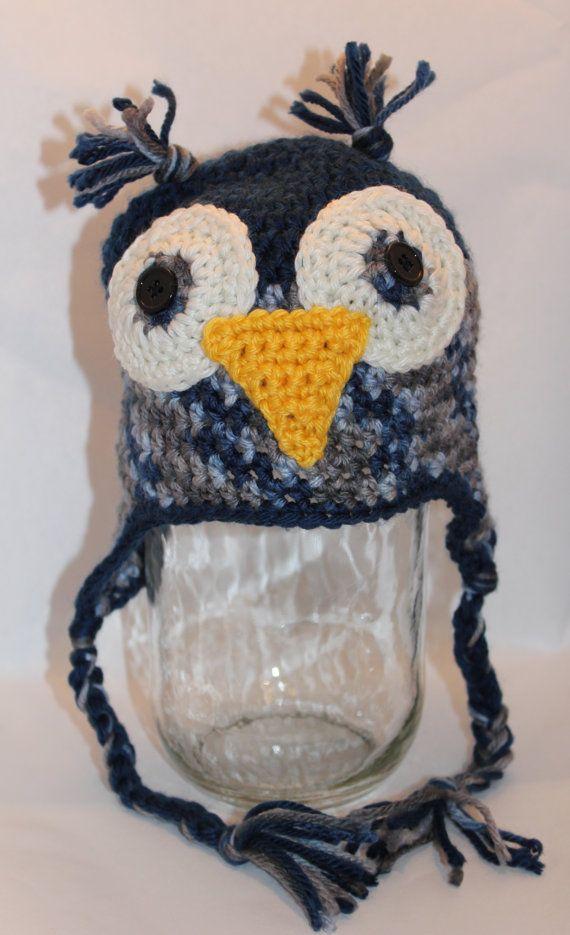 37 besten Crocheted Hats Bilder auf Pinterest | Gehäkelte mützen ...