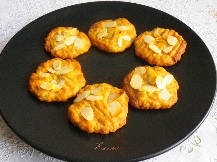 Almás-mézes tönköly keksz