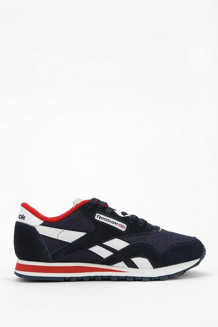 Reebok R13 Suede Running Sneaker #urbanoutfitters